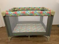 Baby Weavers Travel Cot.