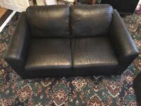 2 seater Leather Sofa £130