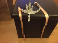 1920s gatsby flapper headdress
