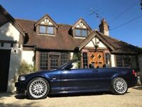 BMW E46 330CI M SPORT MANUAL CONVERTIBLE 1 OWNER ORIGINAL CAR FULL LEATHER+JUST SERVICED & MOT'ED PX