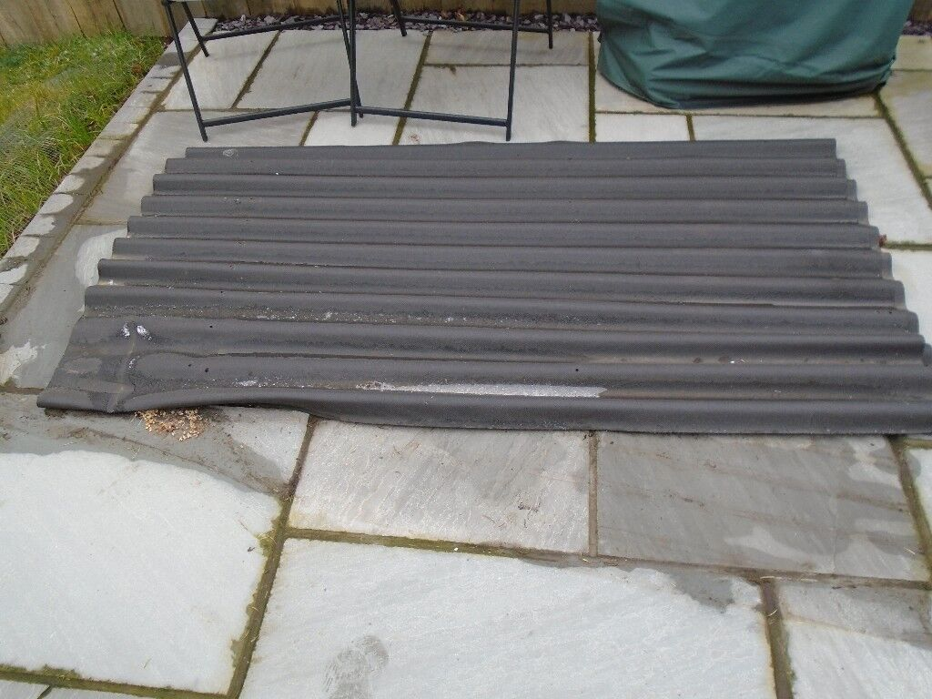 Corrugated Bitumen Black Roofing Sheets X 2 In Norwich