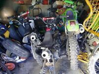 wanted all kinds of pitbikes,mini motos,quads,and any parts for them