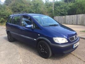 2004(04) Vauxhall Zafira 1.6 7 seater - low miles
