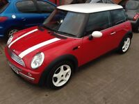 2003 Mini Cooper 1.6 Red History Leather Alloys Air Con New Exhaust MOT 2018 HPi Clear £1595