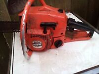 Dolmar 117 German Chainsaw. Petrol Chainsaw