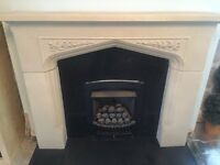 FIREPLACE SURROUND FIRE & HEARTH