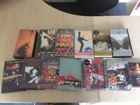U2 dvds and videos