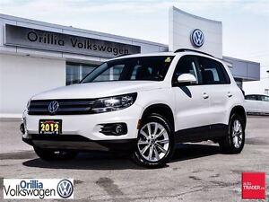 2012 Volkswagen Tiguan 2.0 TSI Comfortline (A6)