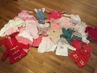 Girls' clothing bundle 6-9months