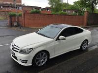 2011 MERCEDES-BENZ C220 CDI WHITE AUTO 51815 MILES