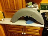Front mudguard brand new with under coat never been used.