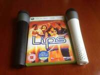 Xbox 360 Microphones and game