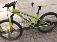 Ghost mountain bike