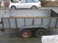 10 ft x 5 ft Twin Axle Trailer