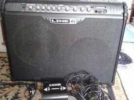 Line 6 Spider III 150 Combo Guitar Amplifier 150 watt amp Footswitch included