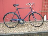 Vintage Mans Raleigh Chiltern 3 Speed Bike Bicycle Cycle