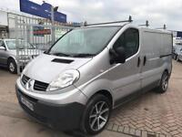 2009 09 RENAULT TRAFIC 2.0 CDTI NEW ENGINE JUST FITTED ALLOY WHEELS SUPER DRIVE STUNNING VAN NO VAT