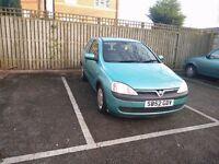 Vauxhall Corsa C 1.2 Low Mileage Long Mot not clio astra civic seat golf yaris 206