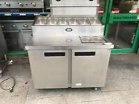 CATERING COMMERCIAL FOSTER PIZZA TOPPING FRIDGE CATERING COMMERCIAL KITCHEN CAFE SHOP KEBAB SHOP BBQ