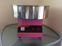 Commercial candy floss machine and popcorn maker