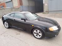 2003 HYUNDAI COUPE 2.0 SE 16V 2 DOOR BLACK AUTOMATIC