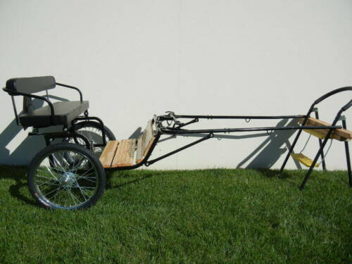 "Easy Entry Mini Size Hardwood Floor w/48""-55"" Straight Shafts w/20"" Bike Wheels"
