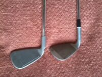 Titleist DTR and Ping I5