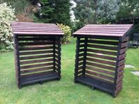 Log Store Made From Recycled Wood £60 Each