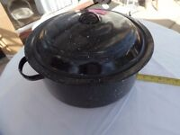 very large cooking pot for catering