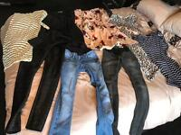 Maternity clothes bundle. Sizes 6 & 8