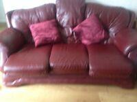 Sofa for sale £250 Italian Leather