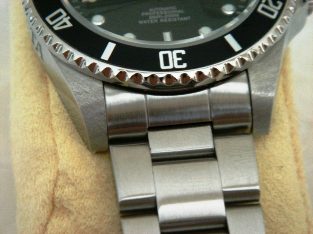 20mm Curved End Stainless Steel Watch Band FITS Invicta Pro Diver 89260B 8926OB