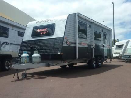 2016 Concept Ascot Semi Off Road Caravan Mandurah Mandurah Area Preview