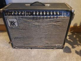1975 Musicman 212-65 Vintage Electric Guitar Valve Amplifier Amp Combo Sixty Five Fender