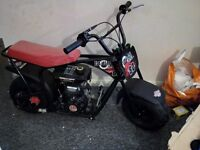 Kids 80cc four stroke monkey bike brand spanking new?