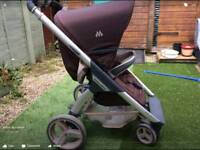 pushchair stroller Maclaren 2in1 baby & child