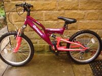 """**£45 only ** Extreme by Raleigh Mission 20"""" Girls Bike. Excellent Condition. **£45 only**"""