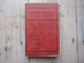 Ward Lock red guide - Eighth Edition - North Wales (Southern section)