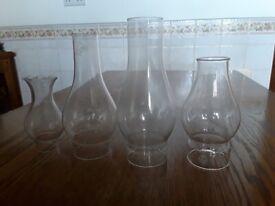 Glass Lamp Funnels