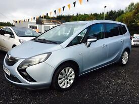 2014 Vauxhall Zafira only £55 per week!! Part exchange welcome Top of the Range!