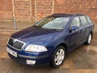2007 SKODA DIESEL ESTATE / AUTOMATIC / ALLOYS / ELECTRIC WINDOWS / AIR CON / CD / JULY MOT .