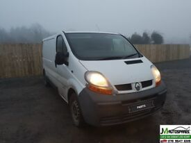 Renault Traffic 2006 1.9 dci Breaking Parts
