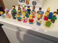 Lego Simpsons mini figure collection