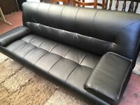 CLICK CLACK Sofa Bed-Hardly Been Used