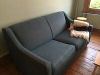 Teal Sofa Bed (double)