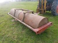 Tractor 10ft field paddock grass roller