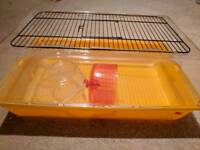 Hamster/Gerbil/Mouse Small Animal Cage Plastic Wheel and Second Floor