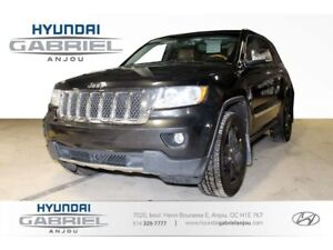 2012 Jeep Grand Cherokee Overland 4WD NAVIGATION - CUIR - TOIT O