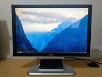 cheap 20 inch monitor - Acer AL2051W