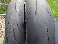 Bridgestone RS10R Racing Street Tyres Road Legal 2016 1207017 / 1805517 Fitment Scrubs